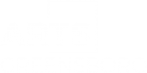 Arts Greensboro Logo White FINAL-High Res_Trans